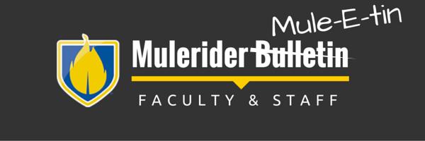 Mulerider Bulletin F & S MuleEtin
